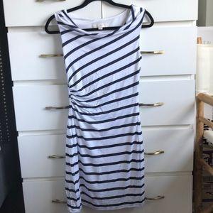 Ann Taylor LOFT striped mini dress
